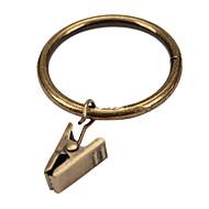 טבעת קליפ וילון מוצק סגנון רטרו (קוטר 3.2cm)