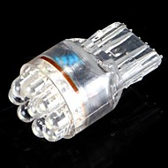 T20 7440 7441 9 LED auto te zetten Signal Light Bulb Lamp 0.5W Wedge White Super Bright