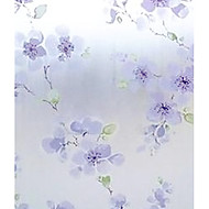 País fresco Estilo Lavendar Floral Window Film