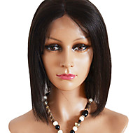 Bob Style Short Straight Fashion Indian Virgin Human Hair Full Lace Wig