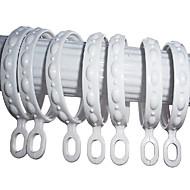 Delecate elegant White Pearl Lace Curtain Clip Ring (diametru 3,5 cm)