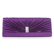 Silk Special Occasion/Casual Clutches/Evening Handbags with Rhinestones (More Colors)
