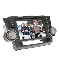 8Inch 2 DIN In-Dash Car DVD Player for Toyota HIGHLANDER 2008-2012 with GPS,BT,IPOD,RDS,Touch Screen