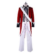 Hetalia Britain Arthur · Kirkland Red Velvet Cosplay Kostym