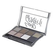 8 Eyeshadow Palette Shimmer Eyeshadow palette Powder Normal