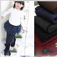 Children's Colored Cotton Leggings