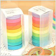 bandă de proiectare curcubeu colorat (10 buc)