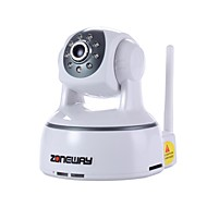 ZONEWAY® Indoor 720P ONVIF IP Camera with WIFI, Plug and Play, SD Card Slot and 8pcs LED Night Vision