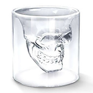 Cool Skull Hode formet Shot Glass