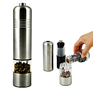 Stainless Steel Electric Pepper Mill Grinder