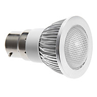 Spot Gradable Blanc Chaud B22 3 W COB 240 LM 3000 K AC 100-240 V
