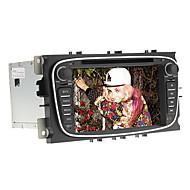 7inch 2 DIN in-dash bil dvd-spelare för mondeo2008-2011 ford med gps, bt, ipod, rds, pekskärm
