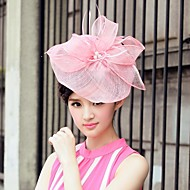 Flax And Tulle Wedding/Special Occasion/Casual Hats With Bowknot(More Colors)