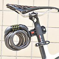 מהנדס ABS FJQXZ רכיבה על אופניים פלסטיק נגד גניבה שחורה קידוד נעילה