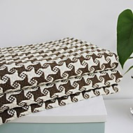 Elaine coton kf motif de vérification bordure Seastar motif coussin de canapé 310912