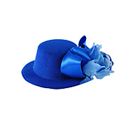 Women's/Flower Girl's Satin/Silk Headpiece - Wedding/Special Occasion/Casual Flowers