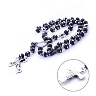 Personalized Gift Stainless Steel and Silicone Chain Necklace Sweater Chain