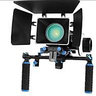 Rig Movie Kit A Follow Focus + Shoulder Mount tartó + Mattebox Camera Rig DSLR fényképezőgépek