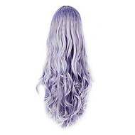 High Quality Cosplay Synthetic Wig Rozen Maiden Long Wavy Side Bang Wig(Mixed Color)
