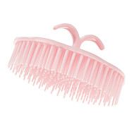 Pink Rounded Shampoo Comb
