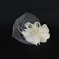 Fleurs Casque Mariage/Occasion spéciale/Casual Tulle Femme/Jeune bouquetière Mariage/Occasion spéciale/Casual