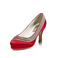 Women's Wedding Shoes Heels/Platform Heels Wedding/Party & Evening Pink/Purple/Red/Ivory/White