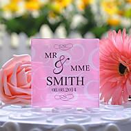 Kuchendeckel personalisierten Blumenkuchendeckel