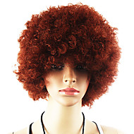 Svart Afro parykk Fans Bulkness Cosplay Julen Halloween Wig Brown Wig 1pc/lot