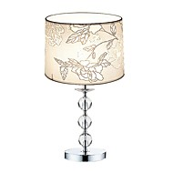 60W Modern/Comtemporary Table Lamps , Feature for Crystal , with Chrome Use On/Off Switch Switch
