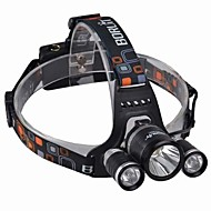 Lights Headlamps LED 3000 Lumens 4 Mode Cree XM-L T6 18650 Waterproof / Rechargeable / Impact ResistantCamping/Hiking/Caving / Everyday