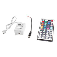 Z®ZDM 44-Button Remote Controller for LED RGB Strip Lights (12V)