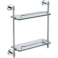 "YALI.M®,Bathroom Shelf Chrome Wall Mounted 41x13x43cm(16""x5.1""x16.9"") Brass Contemporary"