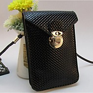 Women Other Leather Type Casual Mobile Phone Bag Blue / Gold / Red / Silver / Black