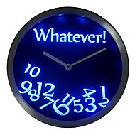 nc0464 Whatever Time Bar Beer Retire Gift Decor Neon LED Wall Clock