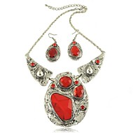 Women's Alloy Jewelry Set Ruby