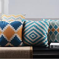 4ポストモダンミニマリズム規則的な幾何学装飾枕カバーのセット