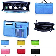 Women's Travel Insert  Portable Cosmetic Handbag Organiser Purse Large Liner Tidy Makeup Bag