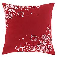 Tradiční Red One Polyester Dekorativní Polštář Cover