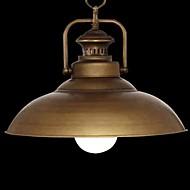60W מנורות תלויות ,  רטרו כרום מאפיין for סגנון נרות מתכת חדר שינה