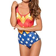 Wonder Woman Spandex Naisten Uimapuku