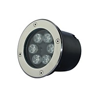 6 LED High Power Quente / Pure / Cool White Light Underground AC85-265V