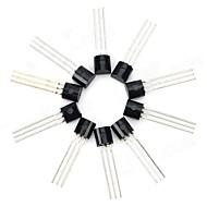 30V NPN Triode Transistor de potência Package Transistor - preto (10 PCS)