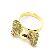 Fashional Butterfly Design Alloy Openings Ring (More Colors)