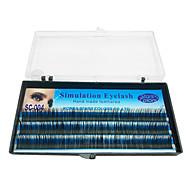 1 Eyelashes lash Eyelash Feather Volumized Handmade Microfiber