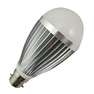 10W B22 LED Globe Bulbs 18 SMD 5730 960-990 lm Cool White Dimmable AC 100-240 V