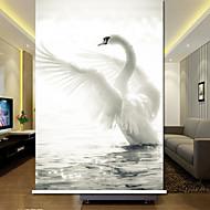 Elegante Plain Cor Swan Rolo Sombra