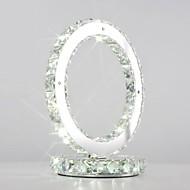 maishang® kristalli pöytälamput, moderni / comtemporary metalli