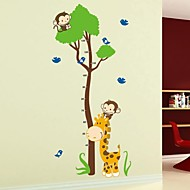 Frankie™DIY Removable Child-Friendly Animal Height Stickers