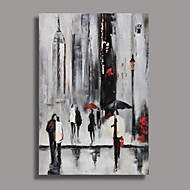 Hand-Painted Abstract Oil Painting , Canvas One Panel