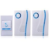 otthoni biztonsági digitális vezeték nélküli csengő 32 dallam (2db)